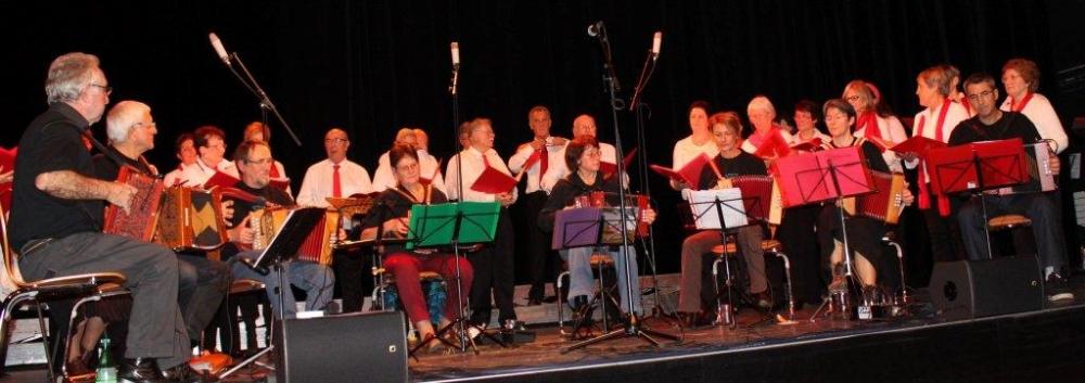 Avec les chorales à l'Ellipse, dimanche 25 novembre 2012