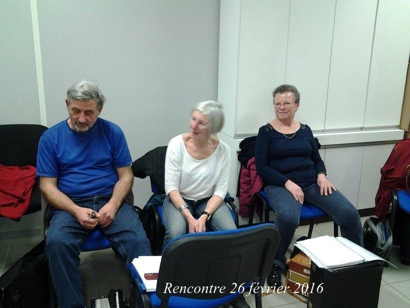 Rencontre 26 février 2016